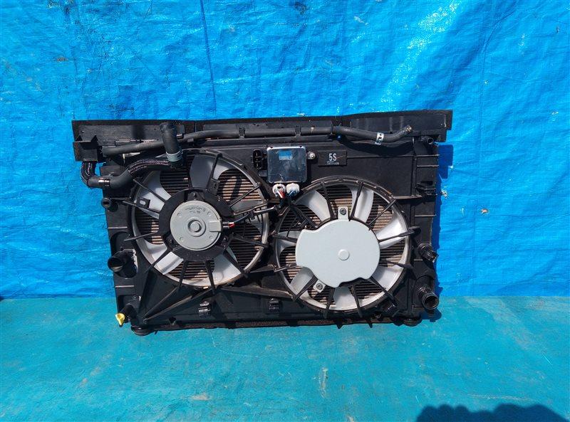 Радиатор основной Toyota Sai AZK10 2AZ-FXE 4A37558 03.2016 (б/у)
