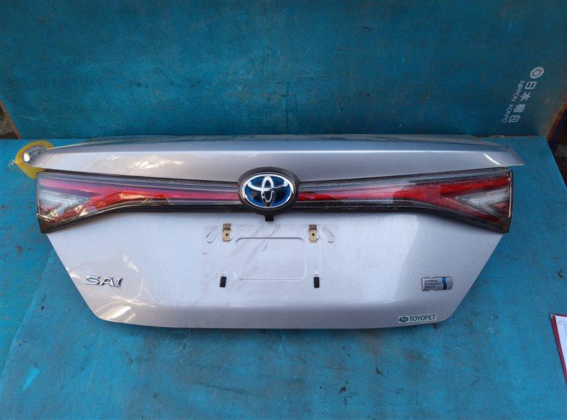 Крышка багажника Toyota Sai AZK10 2AZ-FXE 4A37558 03.2016 (б/у)
