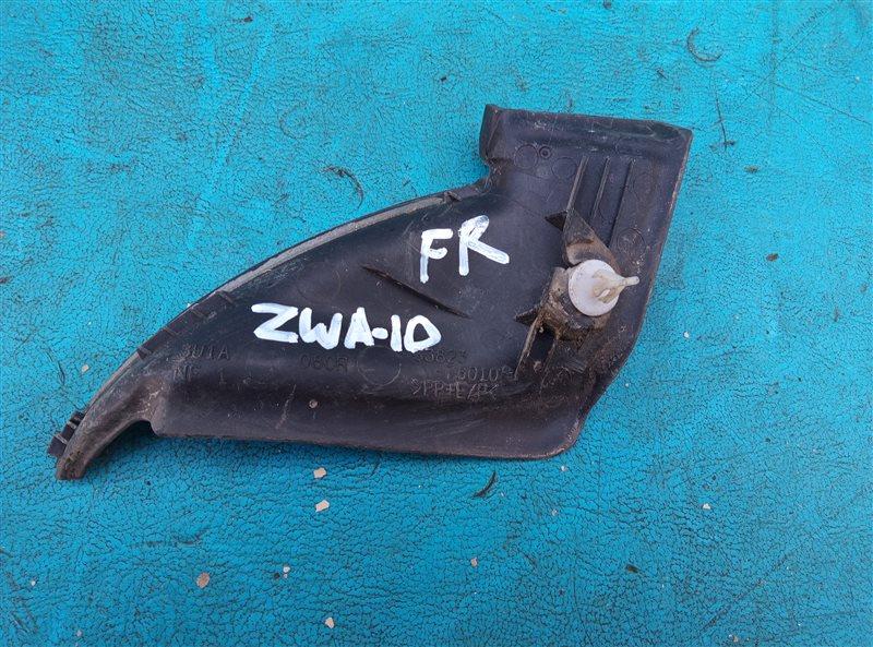 Уголок решетки под дворники Lexus Ct200H ZWA10 2ZRFXE 04.2014 передний правый (б/у)