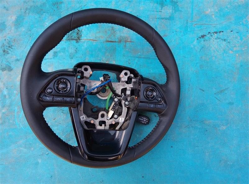 Руль Toyota Prius ZVW51 2ZR-FXE 06.2019 (б/у)