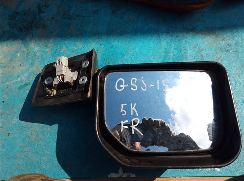 Зеркало Toyota Fj Cruiser GSJ15 1GR-FE 07.2011 переднее правое (б/у)