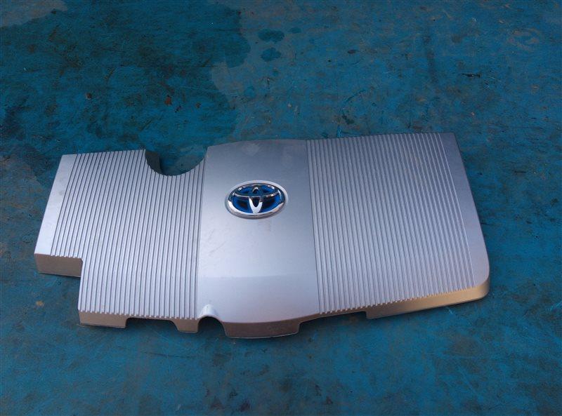 Декоративная крышка двс Toyota Prius ZVW51 2ZR-FXE 06.2019 (б/у)