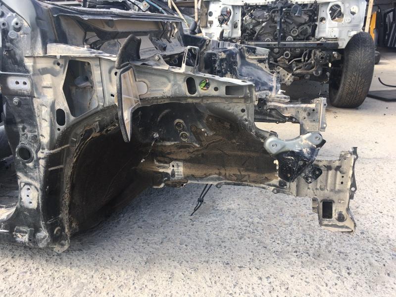 Лонжерон Toyota Harrier ZSU60 3ZR-FAE 02.2017 передний правый (б/у)