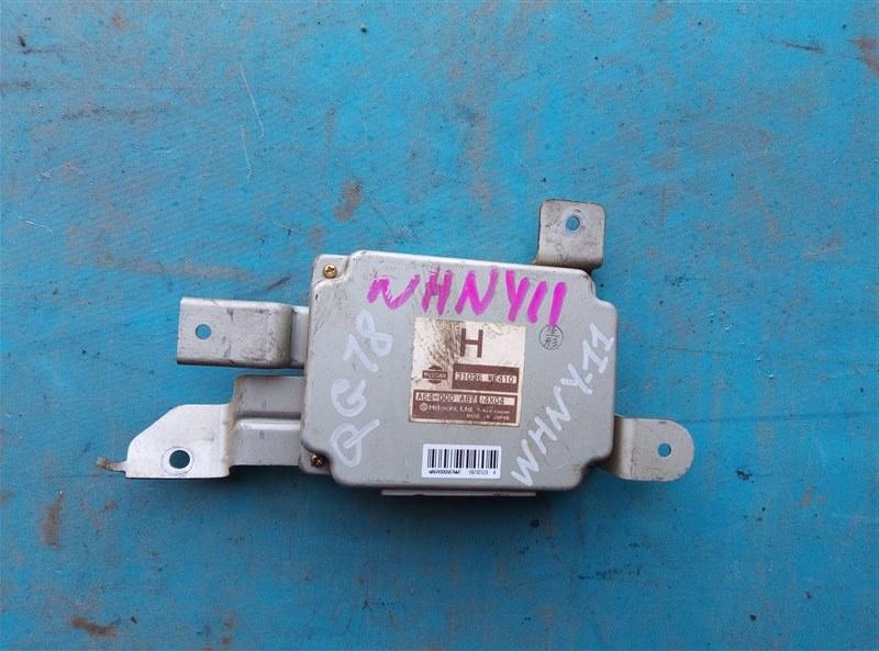 Блок переключения кпп Nissan Wingroad WHNY11 QG18DE (б/у)
