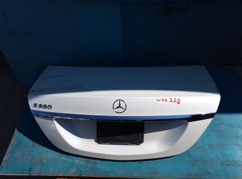 Крышка багажника Mercedes S 500 Long W222 278.929 11.2013 (б/у)