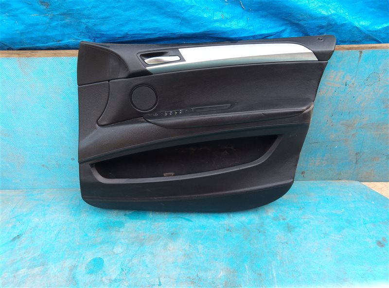 Обшивка дверей Bmw X6M E71 S63B44A 09.2011 передняя правая (б/у)