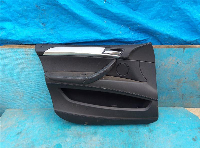 Обшивка дверей Bmw X6M E71 S63B44A 09.2011 передняя левая (б/у)