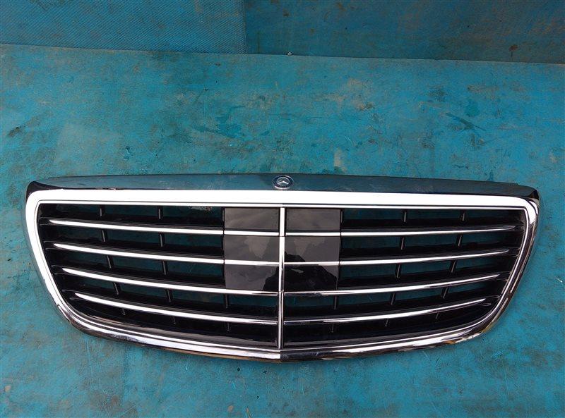Решетка радиатора Mercedes S 500 Long W222 278.929 11.2013 (б/у)