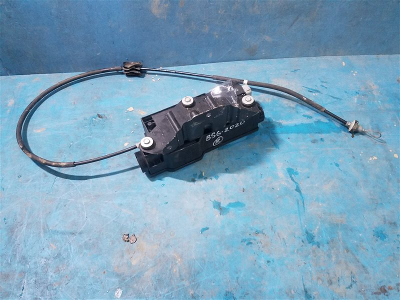 Механизм стояночного тормоза Bmw X6M E71 S63B44A 09.2011 (б/у)