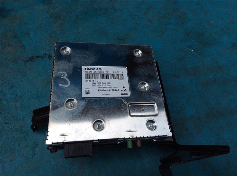 Tv tuner Bmw X6M E71 S63B44A 09.2011 (б/у)