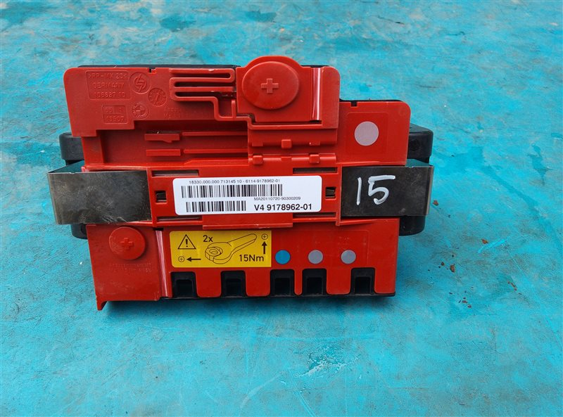 Клемма Bmw X6M E71 S63B44A 09.2011 (б/у)