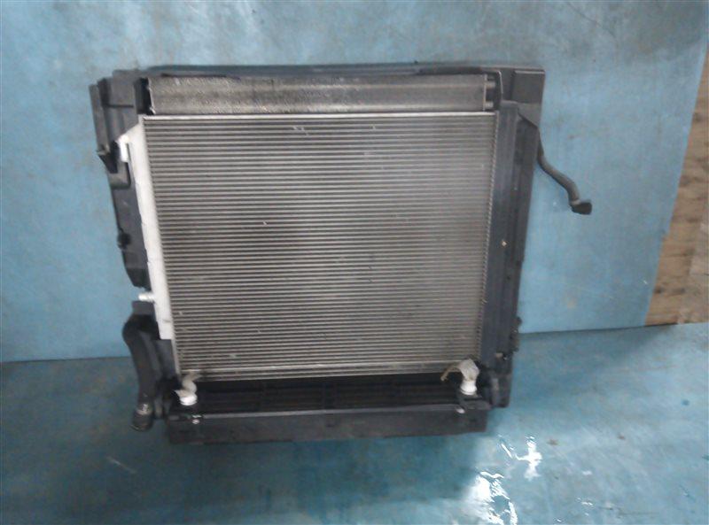 Радиатор основной Bmw X6M E71 S63B44A 09.2011 (б/у)