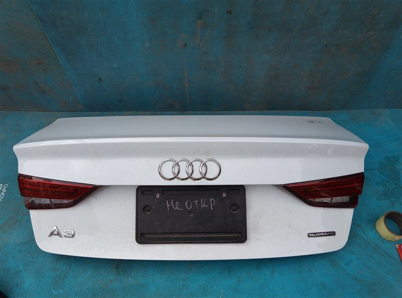 Крышка багажника Audi A3 8VS CZPB 01.2019 (б/у)