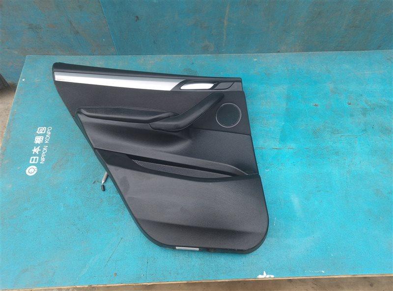 Обшивка дверей Bmw X3 F25 N47D20 09.2013 задняя левая (б/у)