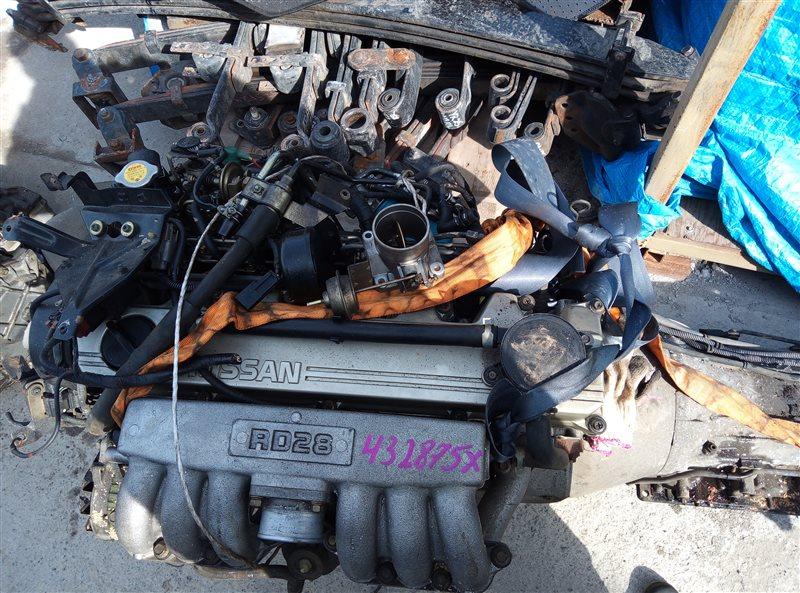 Двигатель Nissan Laurel SC34 RD28 432875X (б/у)