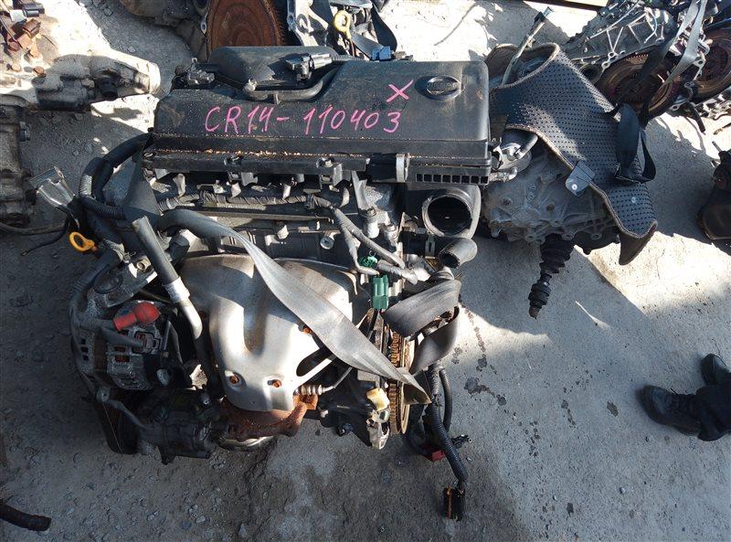 Двигатель Nissan March BNK12 CR14DE 110403 (б/у)