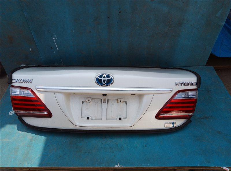 Крышка багажника Toyota Crown GWS204 2GR-FSE 01.2012 (б/у)