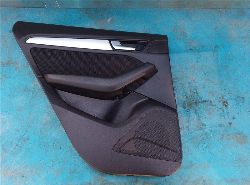 Обшивка дверей Audi Q5 8RB CNCD 12.2014 задняя левая (б/у)