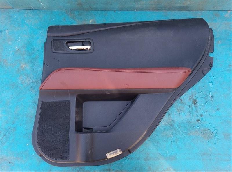 Обшивка дверей Lexus Rx450H GYL10 2GR-FXE 05.2012 задняя правая (б/у)