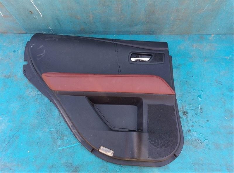 Обшивка дверей Lexus Rx450H GYL10 2GR-FXE 05.2012 задняя левая (б/у)