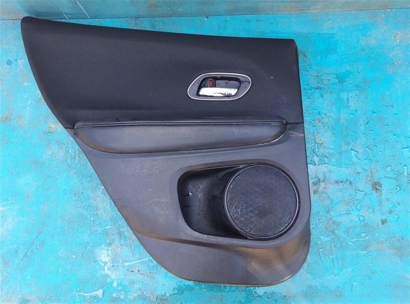 Обшивка дверей Honda Vezel RU1 L15B 2014 задняя левая (б/у)