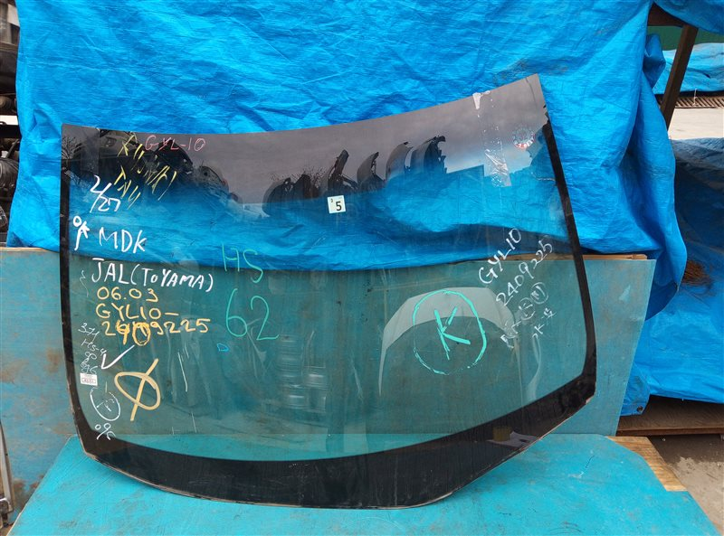 Лобовое стекло Lexus Rx450H GYL10 2GR-FXE 05.2012 (б/у)
