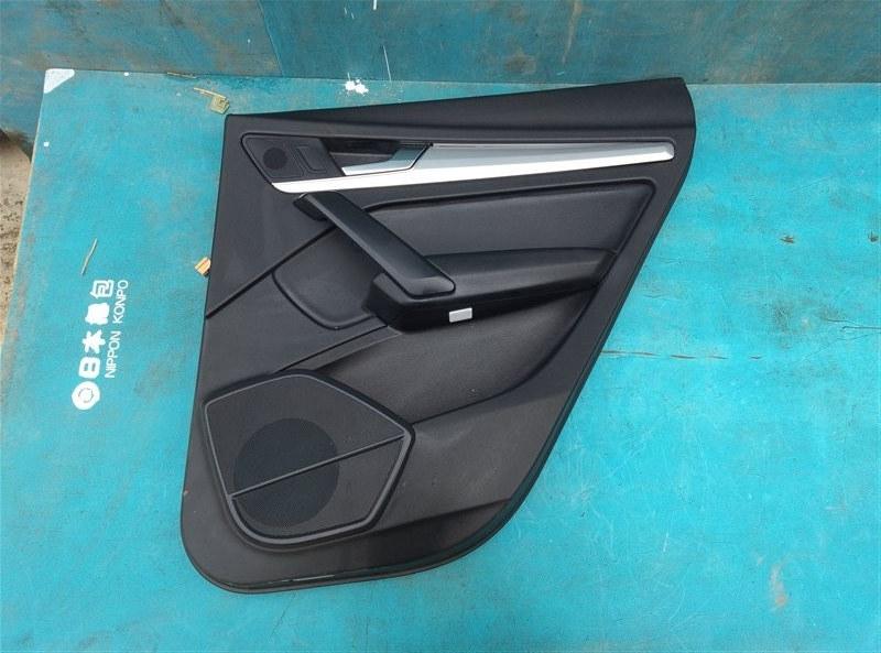 Обшивка дверей Audi Q5 FYB DAXB 07.2018 задняя правая (б/у)