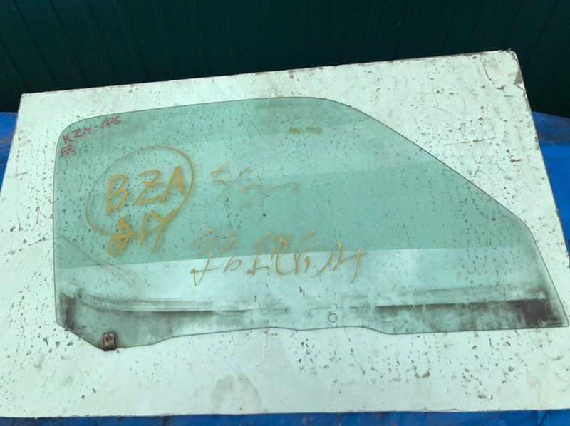 Стекло двери Toyota Hiace KZH106 1KZ-TE переднее правое (б/у)