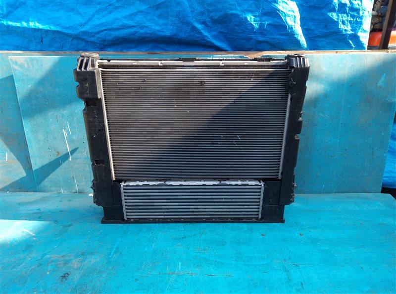 Радиатор основной Bmw X3 F25 N47D20 09.2013 (б/у)