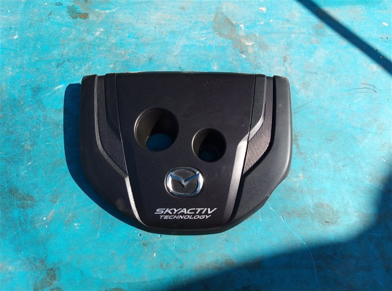 Декоративная крышка двс Mazda Cx-3 DK5AW S5DPTS 10.2015 (б/у)