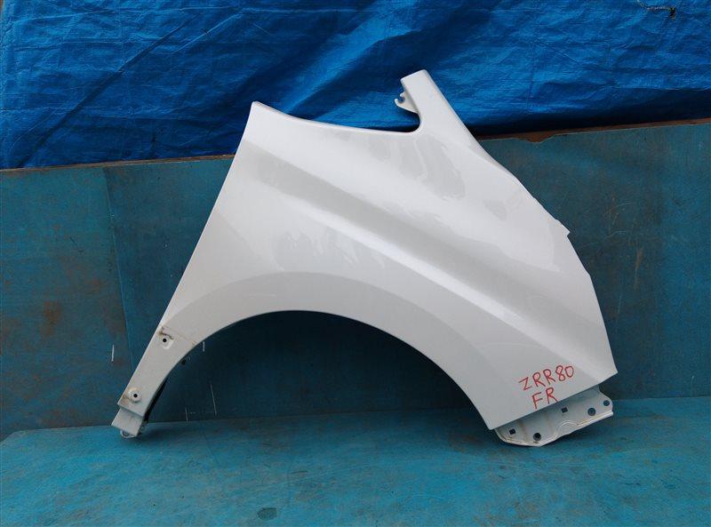 Крыло Toyota Voxy ZRR80 3ZR-FAE 11.2018 переднее правое (б/у)