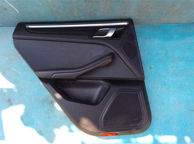 Обшивка дверей Porsche Macan 95B CNCC 10.2014 задняя левая (б/у)