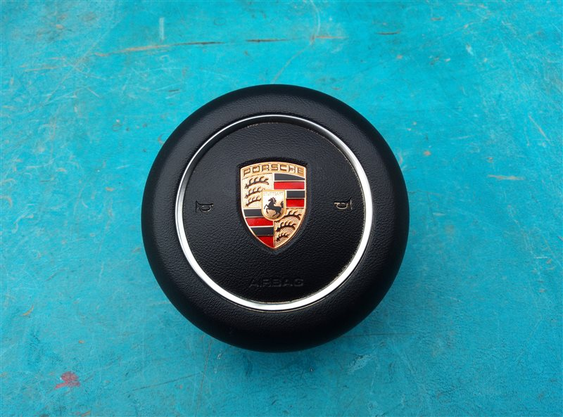 Airbag водительский Porsche Macan 95B CNCC 10.2014 (б/у)