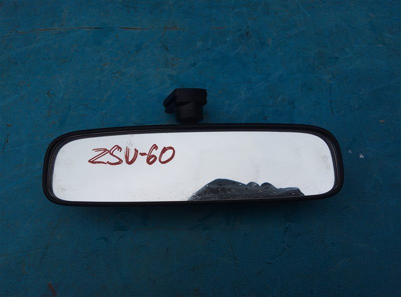 Зеркало заднего вида Toyota Harrier ZSU60 3ZR-FAE 06.2019 (б/у)