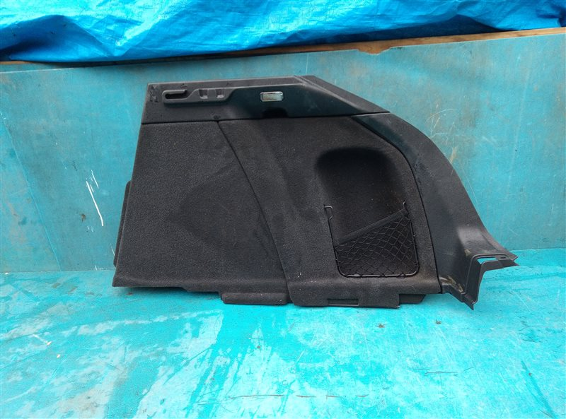 Обшивка багажника Porsche Macan 95B CNCC 10.2014 задняя правая (б/у)