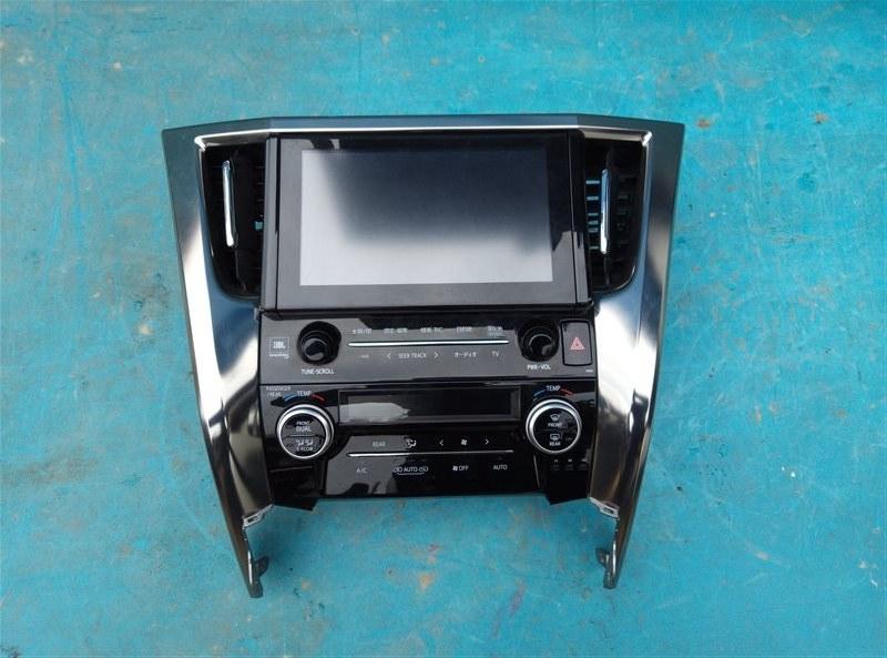 Климат-контроль Toyota Vellfire GGH30 2GR-FE (б/у)