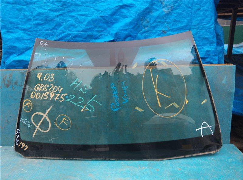 Лобовое стекло Toyota Crown Athlete GRS204 2GR-FSE 02.2011 (б/у)