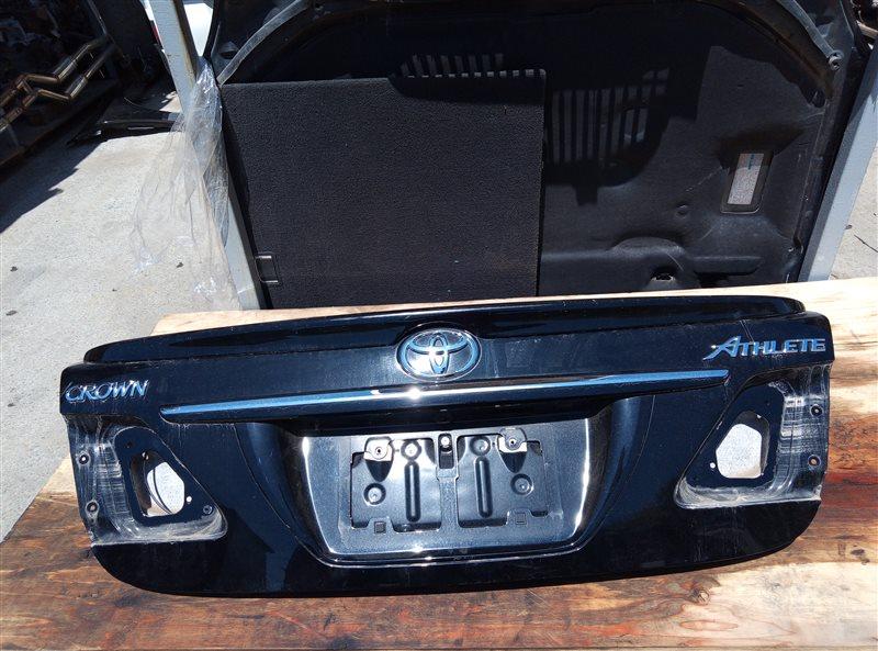 Крышка багажника Toyota Crown Athlete GRS204 2GR-FSE 02.2011 (б/у)