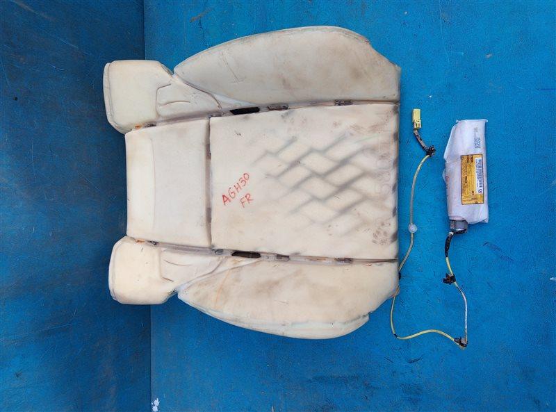 Airbag сидений Toyota Vellfire AGH30 2AR-FE 02.2015 передний правый (б/у)