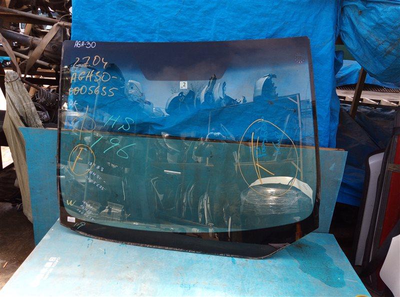 Лобовое стекло Toyota Vellfire AGH30 2AR-FE 02.2015 (б/у)