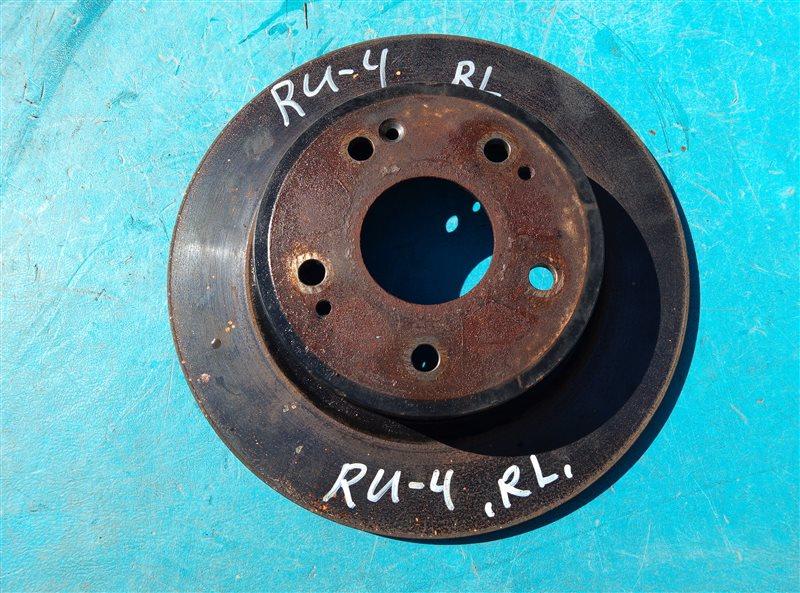 Тормозной диск Honda Vezel RU4 LEB задний левый (б/у)