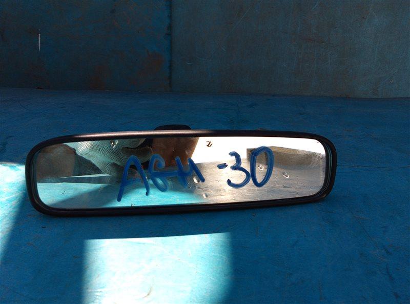 Зеркало заднего вида Toyota Vellfire AGH30 2AR-FE 02.2015 (б/у)