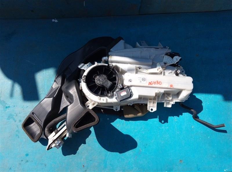 Печка Toyota Vellfire AGH30 2AR-FE 02.2015 задняя (б/у)