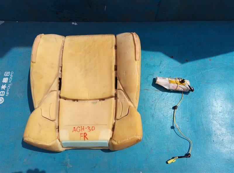 Airbag сидений Toyota Vellfire AGH30 2AR-FE 02.2018 передний правый (б/у)