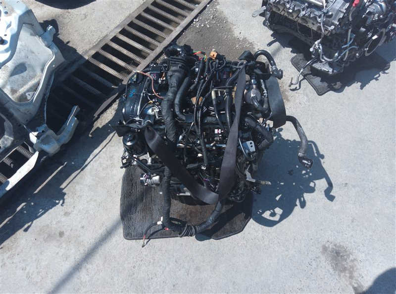 Двигатель Porsche Macan 95B CNCC 10.2014 (б/у)