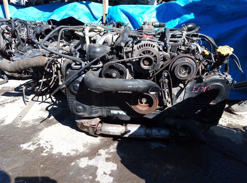 Двигатель Subaru Legacy BH5 EJ206 G12656 (б/у)