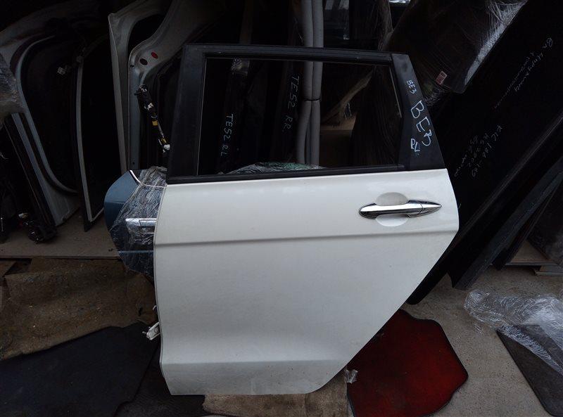 Дверь Honda Edix BE3 K20A задняя левая (б/у)