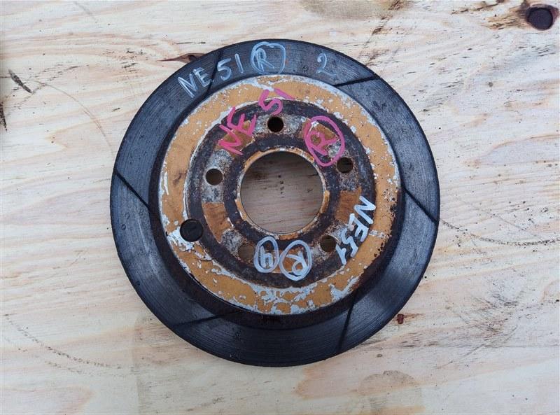 Тормозной диск Nissan Elgrand NE51 VQ35DE задний левый (б/у)