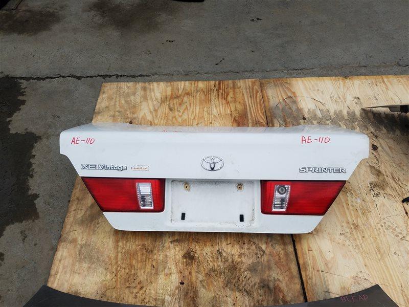 Крышка багажника Toyota Sprinter AE110 5A-FE (б/у)