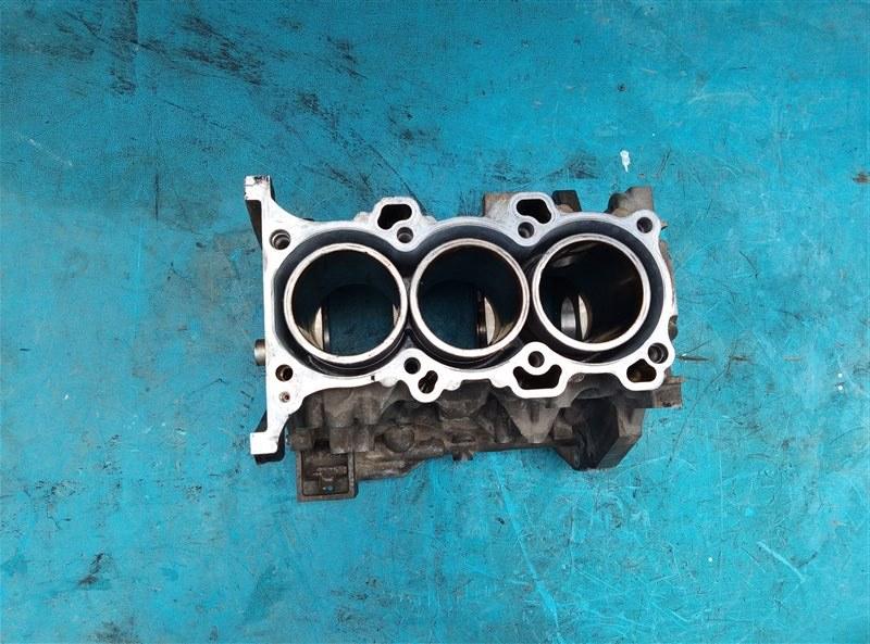Блок двигателя Nissan Moco MG21S K6A (б/у)